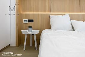 2018精选104平米三居卧室现代装修效果图片家装装修案例效果图