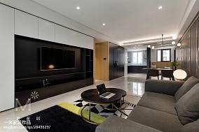 2018面积92平现代三居客厅装修效果图片欣赏家装装修案例效果图