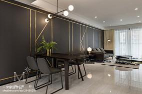 精选92平方三居餐厅现代装饰图片家装装修案例效果图