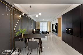 精选101平米三居餐厅现代设计效果图家装装修案例效果图