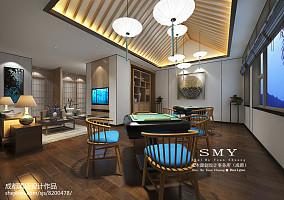 15平现代简约风格客厅电视背景墙装修效果图