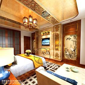 第二步:请为图片添加描述卧室2图中式现代设计图片赏析