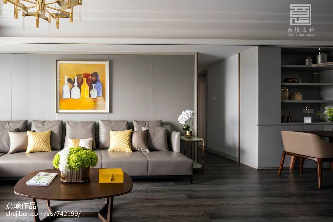 2018精选面积110平别墅客厅简约实景图客厅现代简约客厅设计图片赏析