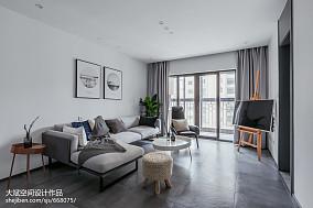 二居现代客厅设计效果图
