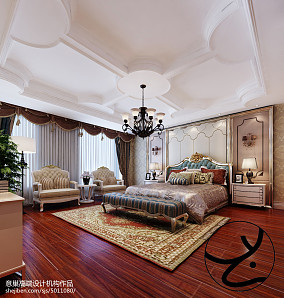 第二步:请为图片添加描述卧室2图欧式豪华设计图片赏析