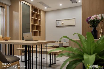 质朴70平现代三居休闲区设计美图功能区