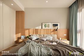 优雅86平现代三居卧室装修美图