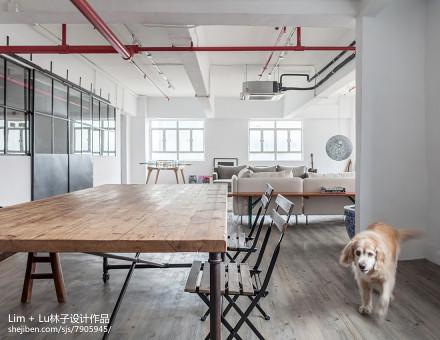 精选面积105平三居餐厅实景图片厨房