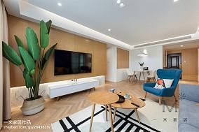 三居客厅北欧欣赏图片大全家装装修案例效果图