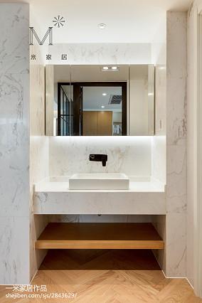 热门北欧三居卫生间装饰图片大全家装装修案例效果图