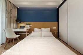 2018面积93平北欧三居卧室装饰图片欣赏家装装修案例效果图
