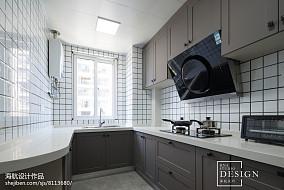 简洁116平现代四居厨房图片大全
