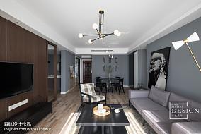 精选面积142平现代四居客厅装饰图片大全