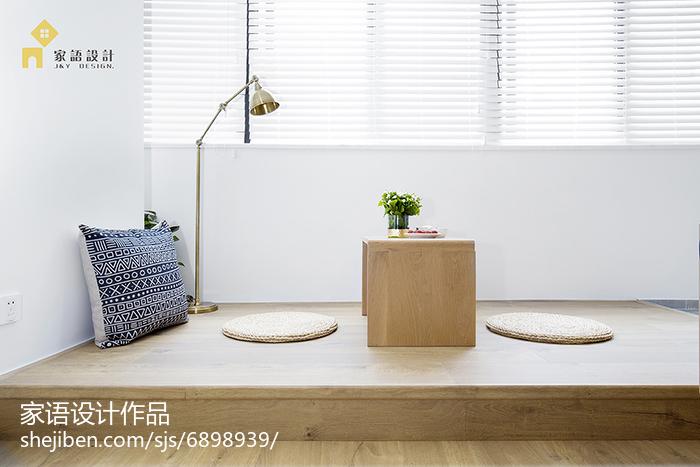 2018精选小户型阳台日式效果图厨房日式餐厅设计图片赏析