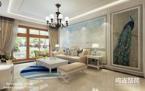 简中式家装卧室设计效果图