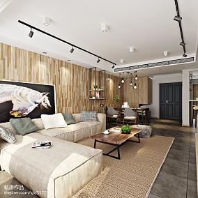 2018精选126平米复式客厅装修实景图片