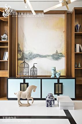 精美大小114平别墅客厅中式装修欣赏图片别墅豪宅中式现代家装装修案例效果图