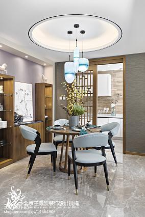 中式别墅餐厅设计图片别墅豪宅中式现代家装装修案例效果图