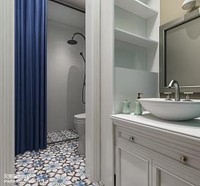 精选小户型卫生间美式装修实景图片