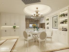 精美100平米三居餐厅欧式装修图片