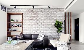 热门面积100平北欧三居客厅装修设计效果图片欣赏