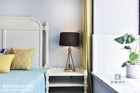 2018精选100平米三居卧室美式装修效果图片大全