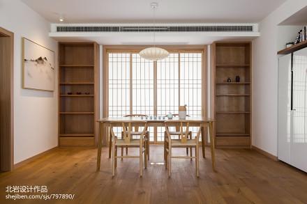 优美79平日式三居餐厅装修装饰图厨房