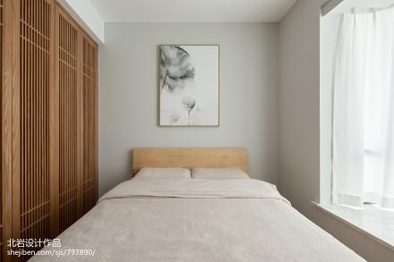 平日式三居卧室装修图片卧室