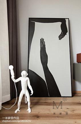精美面积132平复式卧室北欧欣赏图片大全家装装修案例效果图