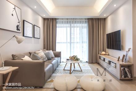 温馨89平日式三居装修设计图三居日式家装装修案例效果图