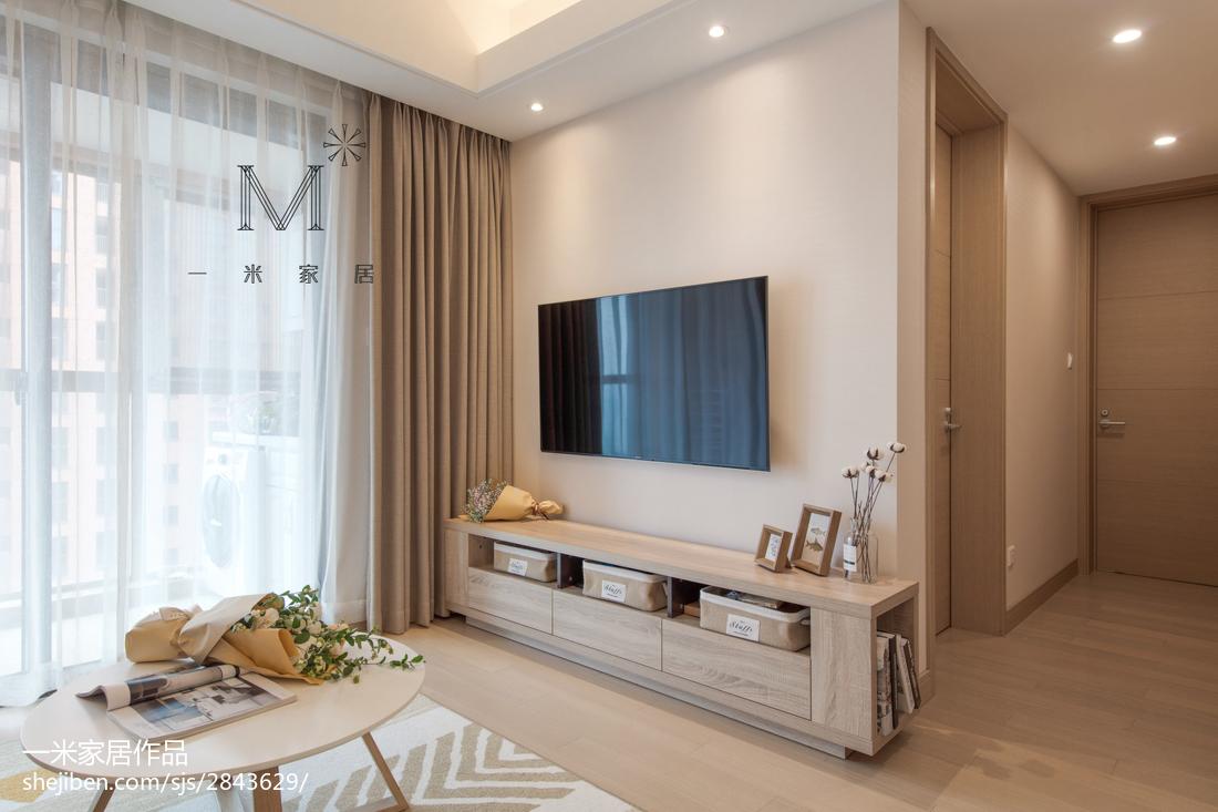 温馨93平日式三居装潢图客厅日式客厅设计图片赏析