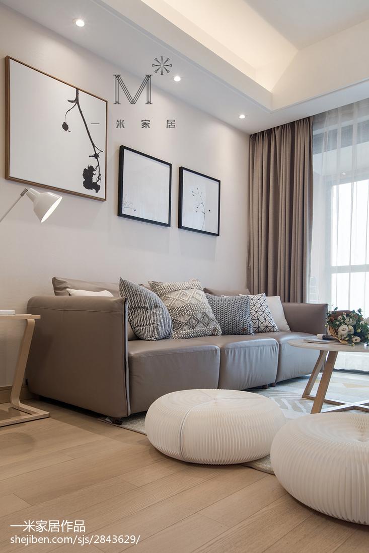大气126平日式三居客厅实景图客厅日式客厅设计图片赏析
