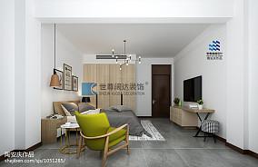 2018精选140平米北欧复式卧室效果图片欣赏