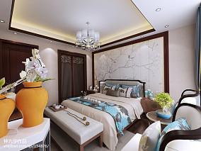精美137平米四居卧室中式实景图片大全