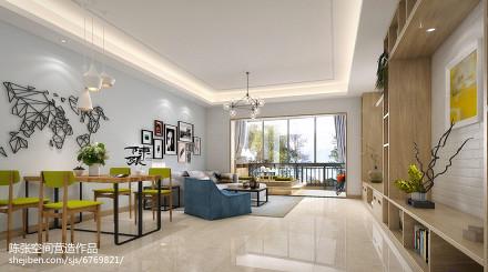 2018四居客厅日式效果图片151-200m²四居及以上日式家装装修案例效果图