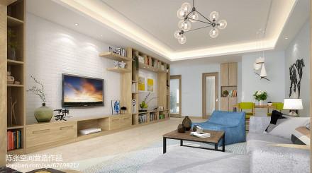 2018112平米四居客厅日式实景图片大全