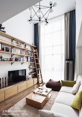 精选90平米二居客厅日式装修效果图片大全