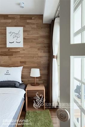 2018精选面积86平日式二居卧室装修设计效果图片欣赏