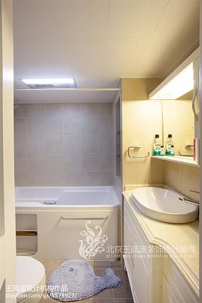 精美日式二居卫生间装修实景图片大全