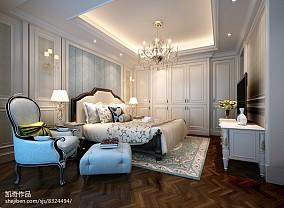 别墅卧室欣赏图151-200m²别墅豪宅欧式豪华家装装修案例效果图
