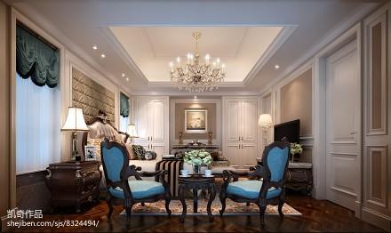 2018精选面积136平别墅客厅装修设计效果图片