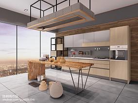 悠雅34平现代小户型厨房装修案例