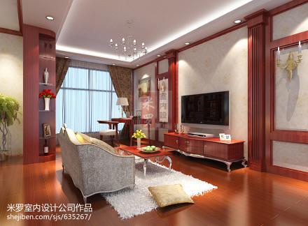 大气760平新古典别墅客厅装潢图客厅