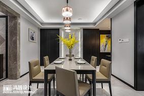 精选大小136平现代四居餐厅装修设计效果图片大全