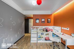 2018129平方四居儿童房现代装修设计效果图片欣赏