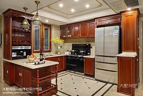 精美面积129平别墅厨房欧式装修效果图片