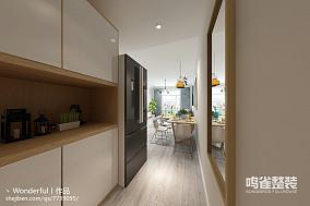 日式简约风格一居室装修效果图欣赏