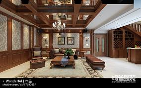日式时尚家居一居室装修效果图