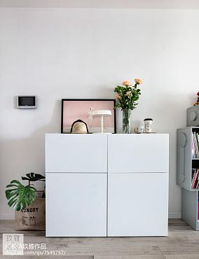 2018精选面积88平欧式二居客厅装修欣赏图