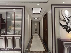 中式奢华装修餐厅设计效果图